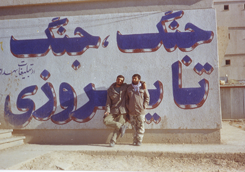 رزمنده مستند ساز رضا منطقی