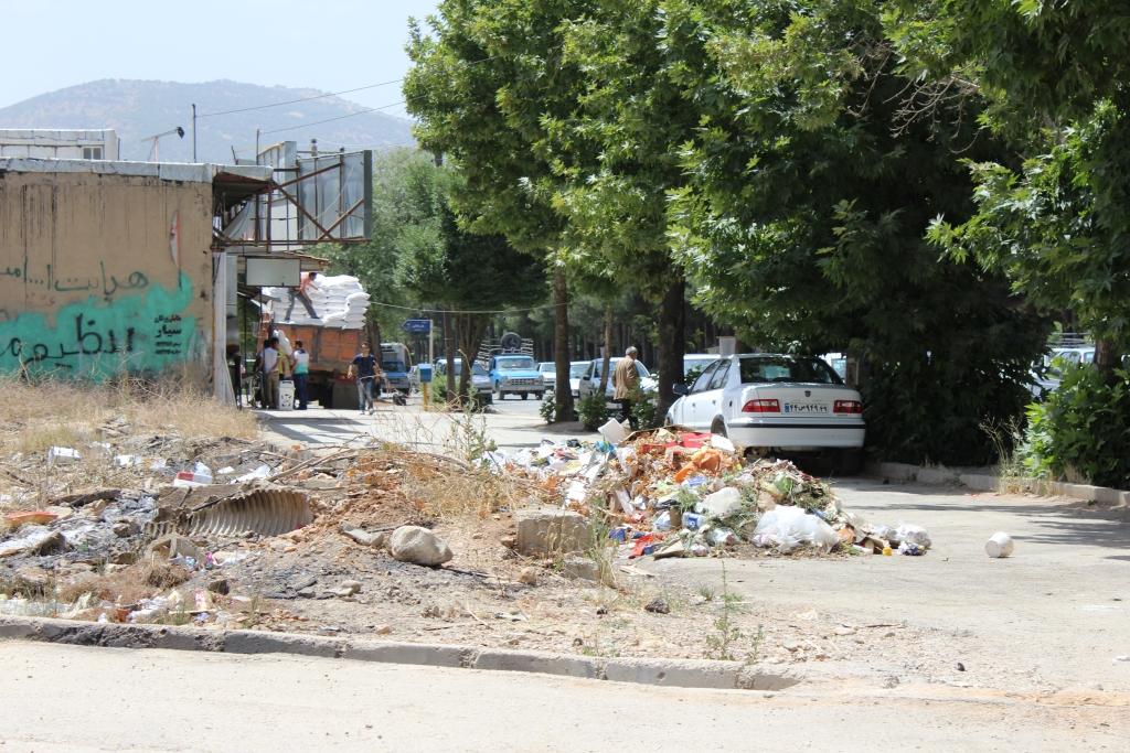 جولان زباله در پایتخحت طبیعت